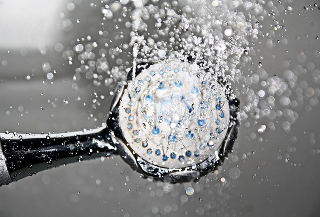 trysk vody