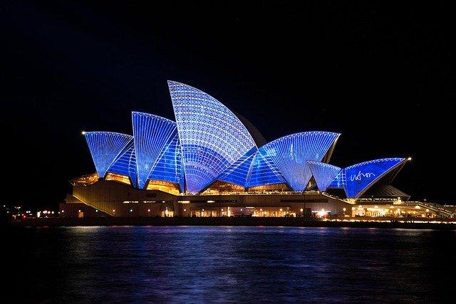 budova opery Sydney