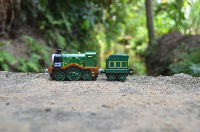 Model mašinky Tomáš